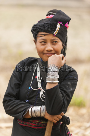 a woman from an ethnic minority