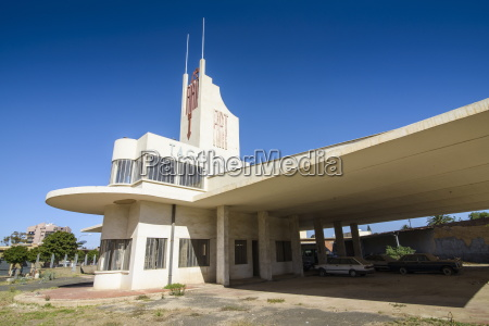fiat tagliero building asmara hovedstaden i