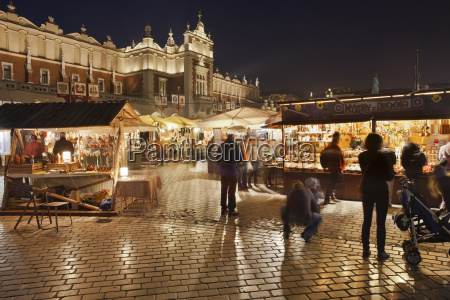 polen krakow gamle bydel traditionelle boder
