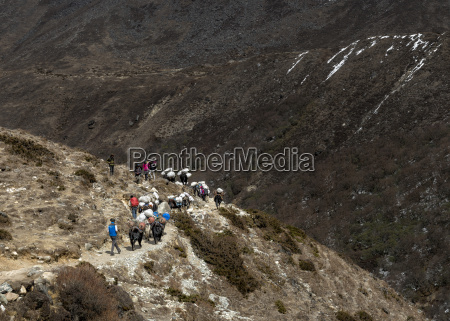 nepal himalaya khumbu trekkere og pakke