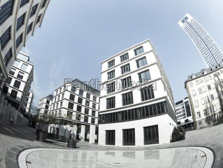 tyskland hesse frankfurt office complex system