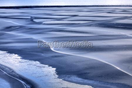 norway telemark tinnsja lake in winter