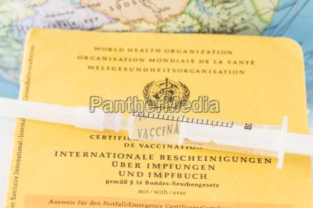 tyskland freiburg sprojte om vaccination certifikat
