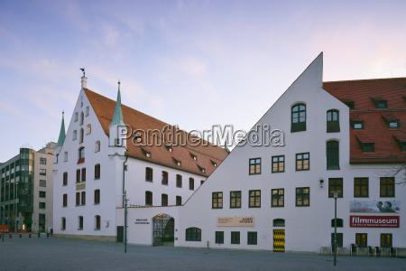 tyskland bayern muenchen kommunalmuseet og filmmuseum