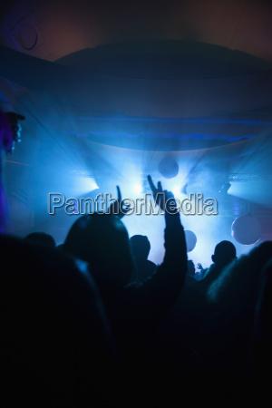 crowd ved koncert