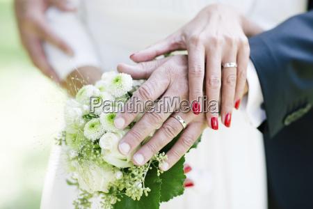 kvinde hand ring bryllup vielse indgaelse