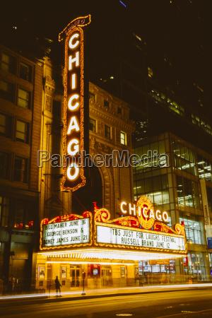usa illinois chicago the chigaco teater