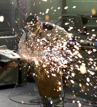 tyskland sachsen arbejdstager afgratning stobt stykke