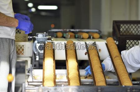tyskland fodevareindustrien cookie produktion i industrielt