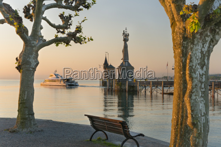 germany constance view of port entrance