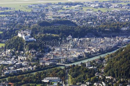 ostrig salzburg udsigt over salzburg by