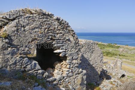 tur rejse sten antik vand middelhavet