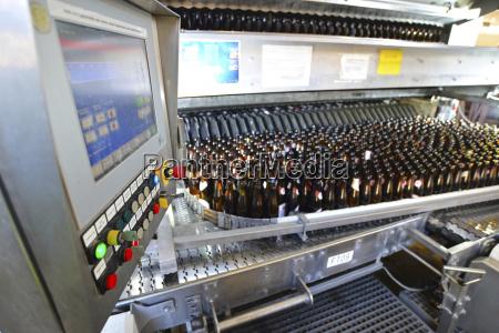 tyskland tappeanlaeg af et bryggeri