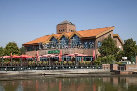 germany north rhine westphalia oberhausen restaurant