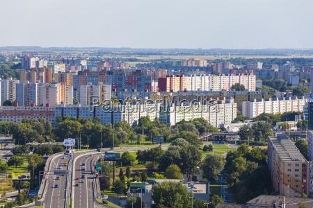 slovakiet bratislava bybillede med petrzalka kvarter