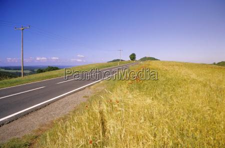 bla sky mark sommer sommerlig sollys