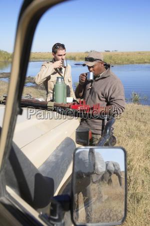afrika botswana okavango delta maend pa
