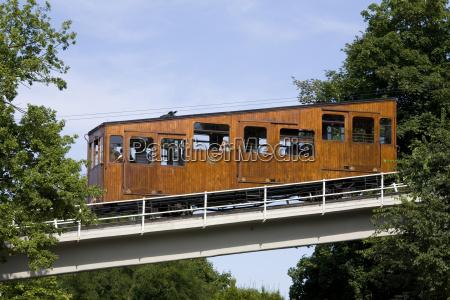 tyskland baden wuerttemberg stuttgart cablecar