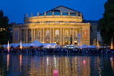 tyskland baden wuerttemberg stuttgart operahus