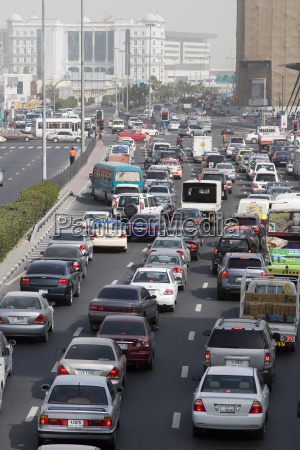 trafik under rushtid