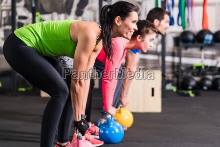 funktionel fitness traening i sport gym