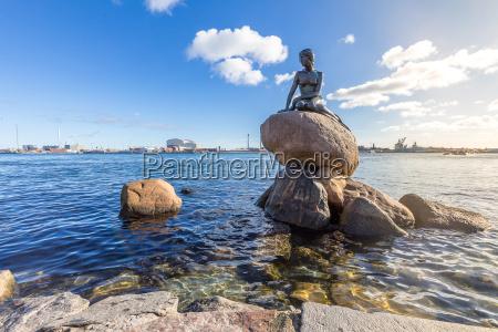 tur rejse statue danmark lille betydningslos