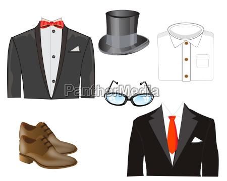 sommerfugl briller shirt iklaede cloth suit