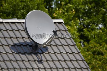 kommunikation antenne digital satellit parade ser