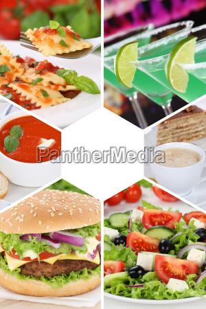 restaurant mad levnedsmiddel naeringsmiddel fodevare collage