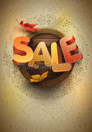 autumn sale design