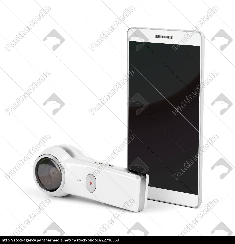 360, grad, kamera, og, smartphone - 22710869