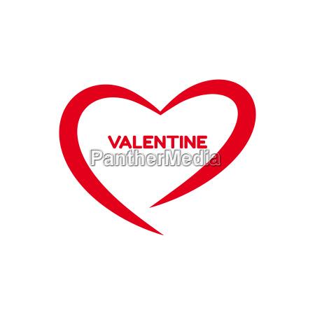 digital vektor rodt hjerte tekstur valentinsdag
