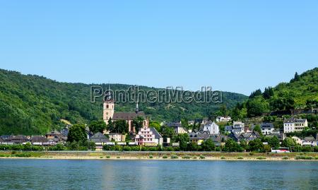 kirke by rhinen hessen