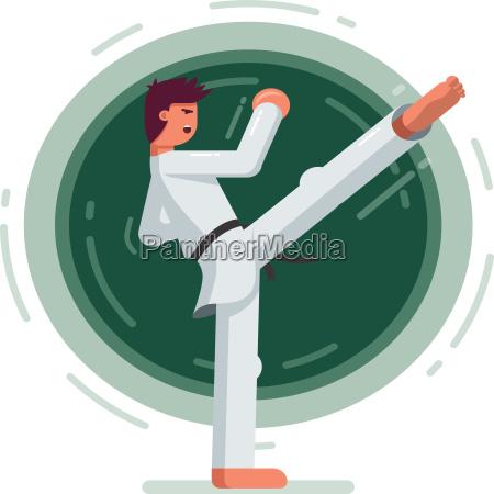 martial arts training symbol