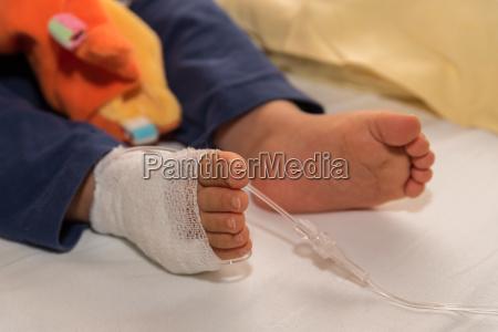 bandage infusion terapi kanyle