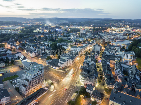 city of wetzlar at night germany