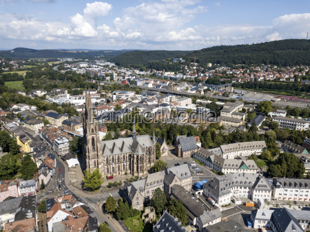 old town of marburg germany