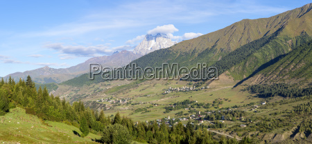 mulhaki mountain village mestia svaneti region