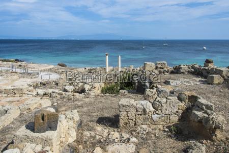 archaeological site of tharros sardinia italy