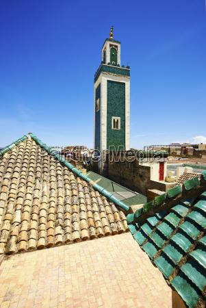 bou inania madrasa medina unesco world