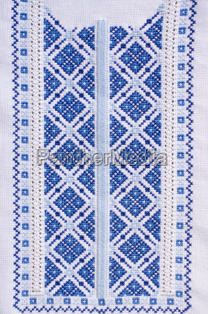 ukrainian folk patterns embroidered
