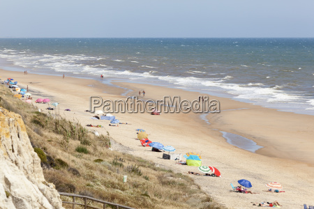 park strand seaside stranden kysten spanien