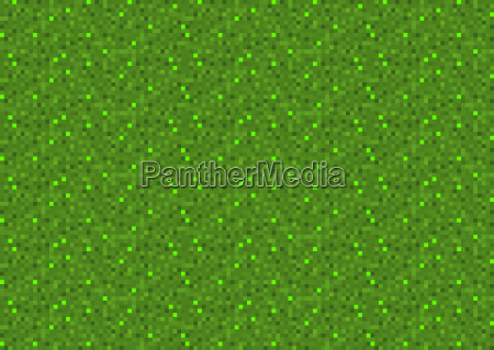 green pixel seamless background