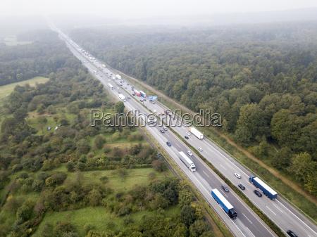 trafikprop pa en tysk autobahn