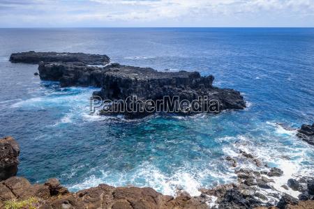 stillehavet hav landskab vue fra klipper