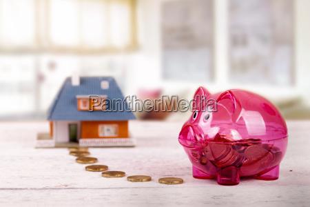 pengeinstitut bank hus bygning husholdning husstand