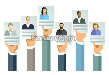ansogning job arbejde tilbud