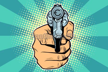 euro valuta penge finansiering revolver i