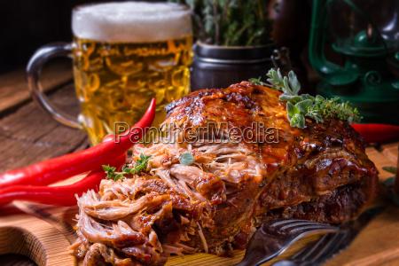 velsmagende barbecue pulled pork