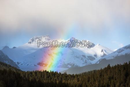 regnbuer og intermitant brusere i alaskas